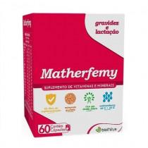 Matherfemy Suplemento Vitamínico e Mineral com 60 Cápsulas