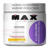 BCAA 4:1:1 Drink Laranja Max Titanium 280g