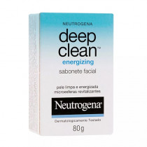 Neutrogena Deep Clean Energizing Sabonete Facial 80g