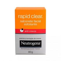 Neutrogena Rapid Clear Sabonete Facial 80g