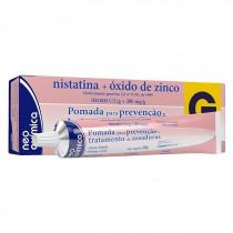 Nistatina + Óxido De Zinco 1000 UI/g 200mg/g 60g  É um creme ginecológico ideal para prevenção e tratamento de assaduras, tanto em adultos (assadura mamária, perineal, interdigital, axilar, fungos do gênero Candida ou outros), como em crianças (dermatite