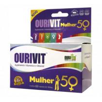 Suplemento Alimentar Ourivit Mulher 50+ com 60 Cápsulas