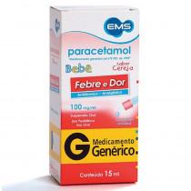 Paracetamol Bebê 100mg/ml Gotas 15ml