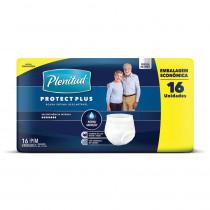 Roupa Íntima Descartável Plenititude Protect Plus P/M 16 unidades