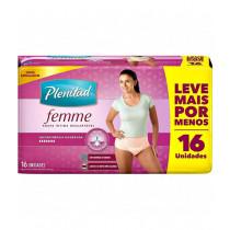 Fralda Geriátrica Plenitud Active G/XG Femme 16 Unidades