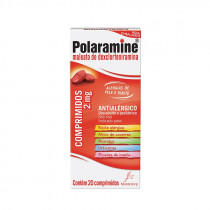 Polaramine 2mg 20 comprimidos