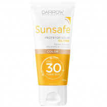 Protetor Solar Sunsafe FPS 30 Oil Free Color 50ml