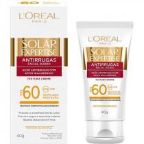Protetor Solar Expertise FPS 60 Antirrugas L'oréal 40g