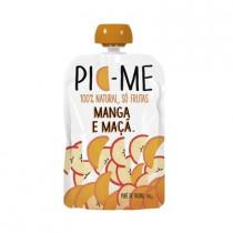Purê de Frutas Pic-Me 100% Natural - Manga e Maça 100g