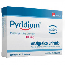 Pyridium 100mg 25 drágeas