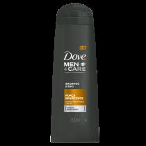 Shampoo Dove Men+ Care 2 em 1 Força Resistente 200ml