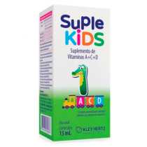 Suple Kids Suplemento de Vitaminas A+C+D com 15ml