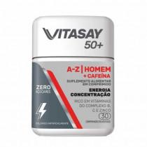 Vitasay 50+ Homem + Cafeína 30 Comprimidos