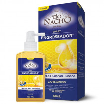 Tônico Antiqueda Tio Nacho Spray Engrossador 120ml