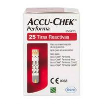 Tiras Accu-Chek Perfoma 25 Unidades