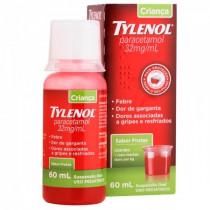Tylenol Criança 32mg/ml Sabor Frutas 60ml