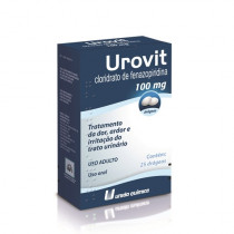 Urovit 100mg 25 Drágeas