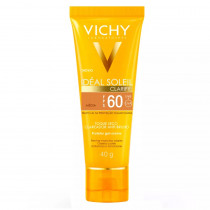 Vichy Ideal Soleil Clarify FPS 60 Cor Média 40g