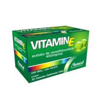 Vitamina E Natulab 400mg com 30 Cápsulas