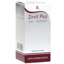 Zirvit Plus com 30 Comprimidos