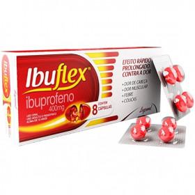 Ibuflex 400mg com 8 Comprimidos