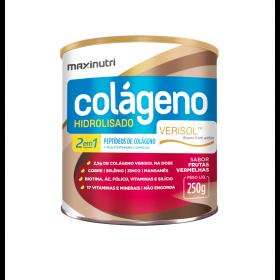 Colágeno Hidrolisado 2 em 1 Verisol Frutas Vermelhas 250g