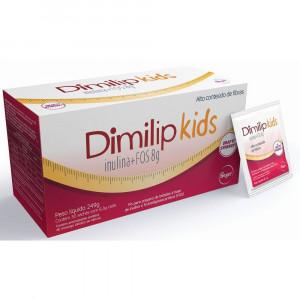 Dimilip Kids Sabor Morango com 30 Sachês