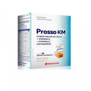 Prosso KM com 30 Tabletes Mastigáveis