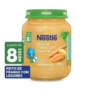 Papinha Peito de Frango com Legumes 170g