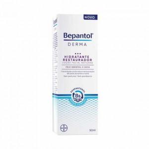 Bepantol Derma Hidratante Restaurador Loção Facial Noturna 50ml
