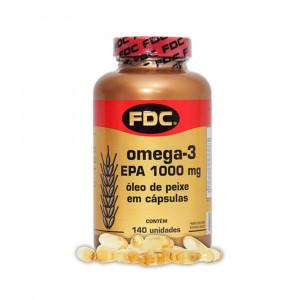 Ômega 3 EPA 1000mg FDC com 140 Cápsulas